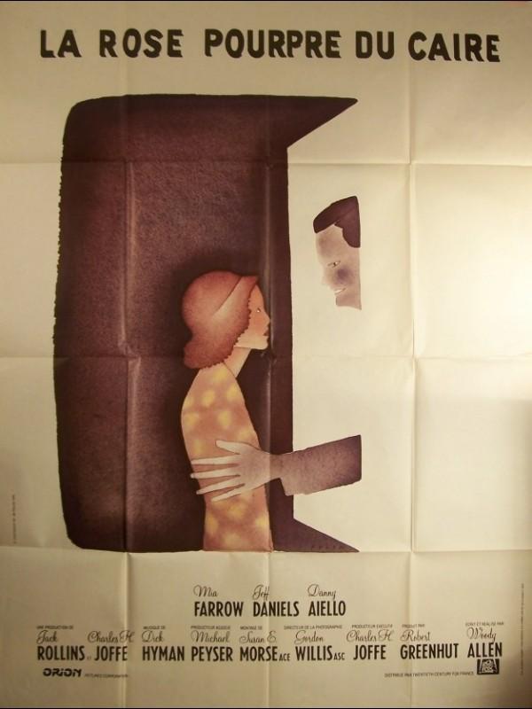 Affiche du film ROSE POURPRE DU CAIRE (LA) - THE PURPLE ROSE OF CAIRO