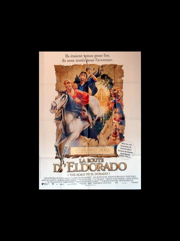 Affiche du film ROUTE D'ELDORADO (LA) - THE ROAD TO EL DORADO