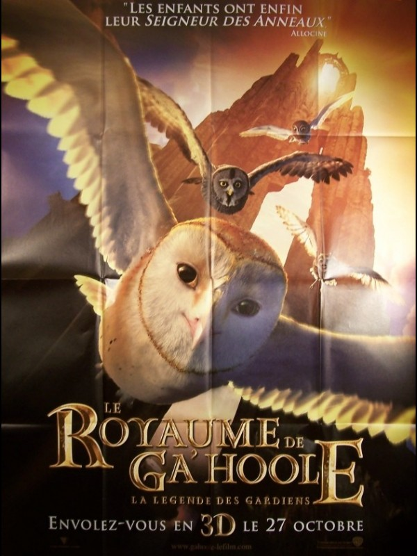 Affiche du film ROYAUME DE GA'HOOLE - LEGEND OF THE GUARDIANS: THE OWLS OF GA'HOOLE