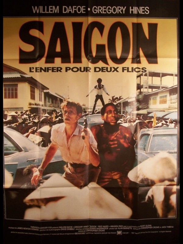 Affiche du film SAIGON - OFF LIMITS