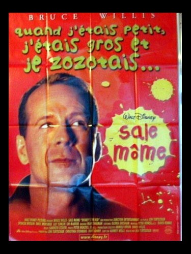 Affiche du film SALE MOME (BRUCE WILLIS)
