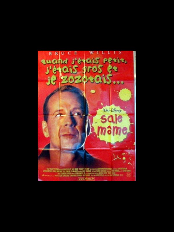 Affiche du film SALE MOME (BRUCE WILLIS)
