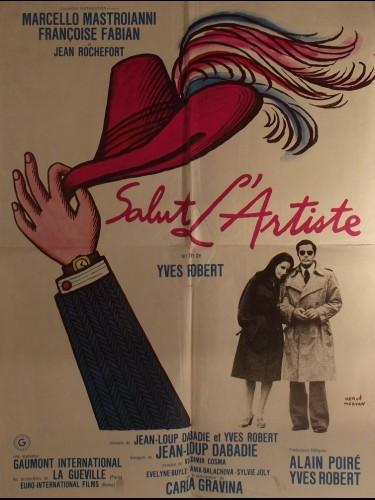Affiche du film SALUT L'ARTISTE