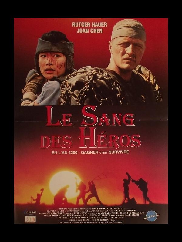 Affiche du film SANG DES HEROS (LE)