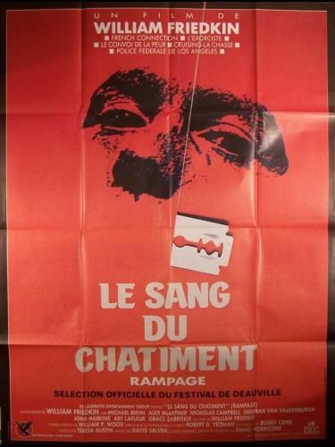 Affiche du film SANG DU CHATIMENT (LE) - RAMPAGE