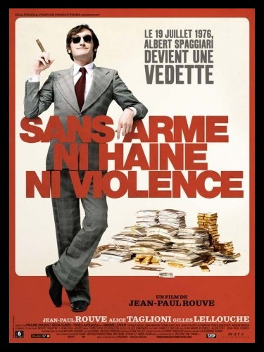 Affiche du film SANS ARMES, NI HAINE, NI VIOLENCE