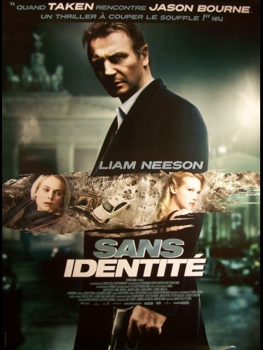 Affiche du film SANS IDENTITE - UNKNOWN