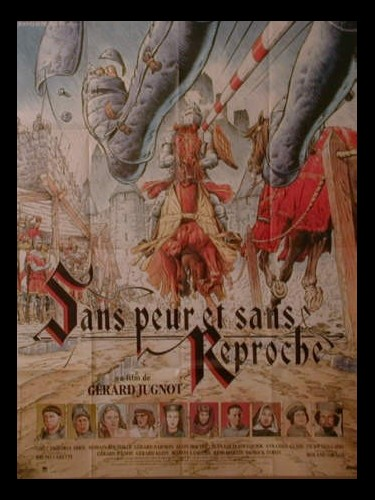 Affiche du film SANS PEUR ET SANS REPROCHE