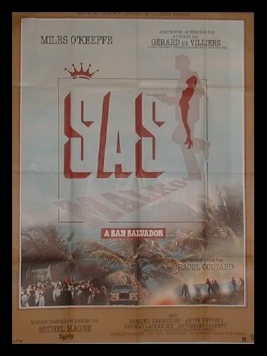 Affiche du film SAS MALKO A SAN SALVADOR
