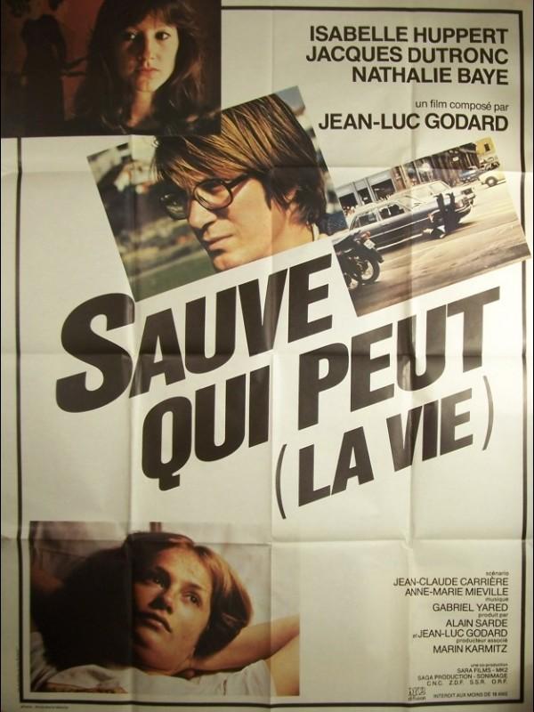 Affiche du film SAUVE QUI PEUT LA VIE
