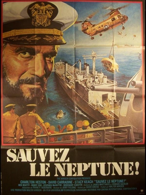 Affiche du film SAUVEZ LE NEPTUNE - GRAY LADY DOWN