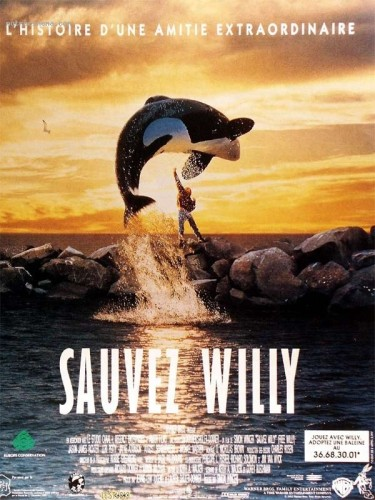 Affiche du film SAUVEZ WILLY - FREE WILLY