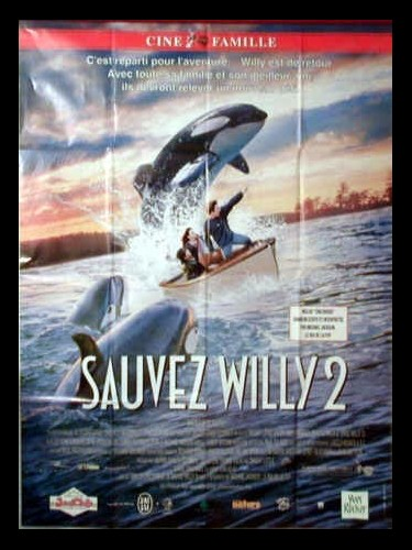 Affiche du film SAUVEZ WILLY 2