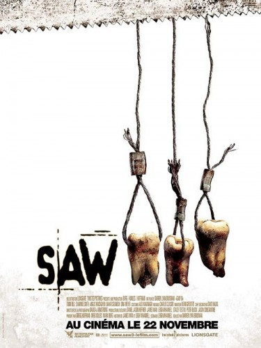 Affiche du film SAW 3 - SAW III
