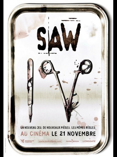 Affiche du film SAW 4 - SAW IV