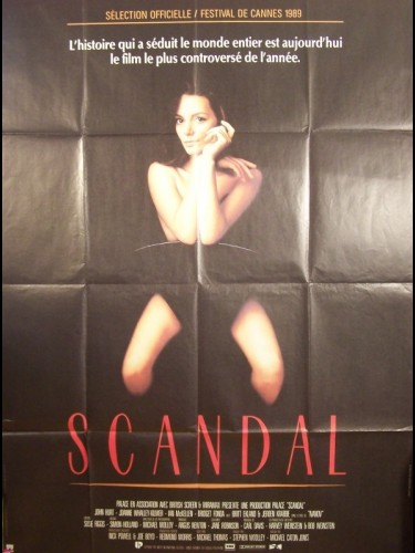 Affiche du film SCANDAL
