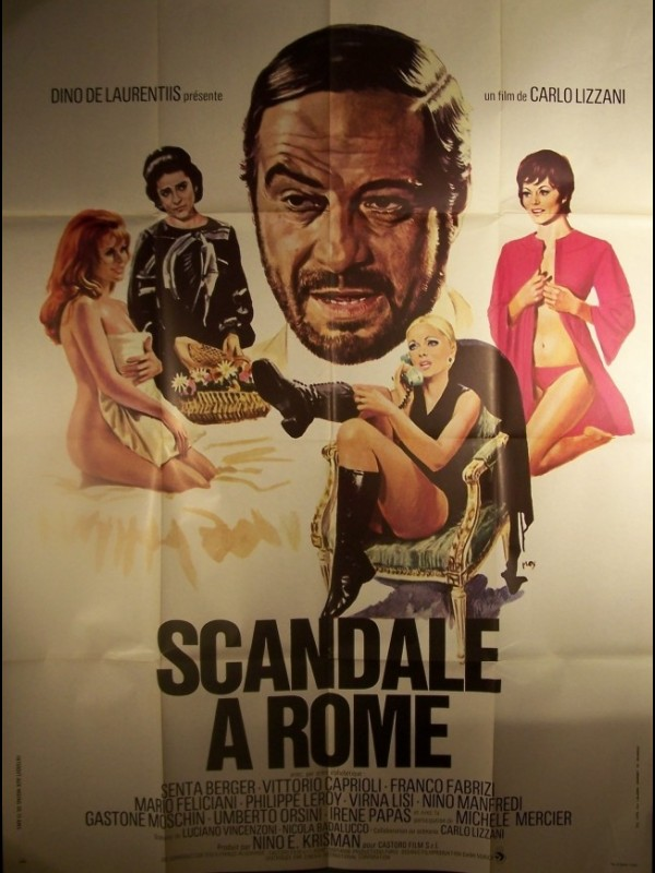 Affiche du film SCANDALE A ROME - ROMA BENE
