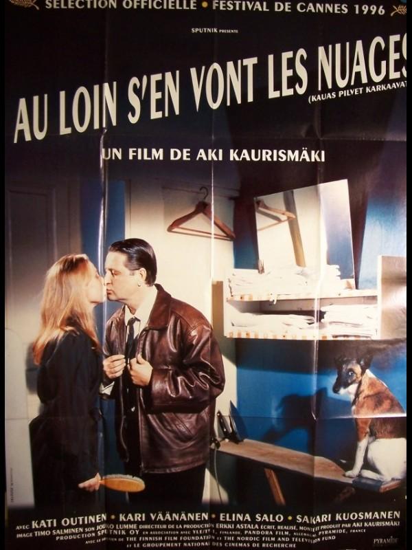 Affiche du film AU LOIN S'EN VONT LES NUAGES - KAUAS PILVET KARKAAVAT