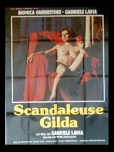 Affiche du film SCANDALEUSE GILDA