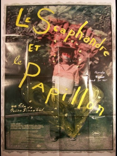 Affiche du film SCAPHANDRE ET LE PAPILLON (LE) - THE DIVING BELL AND THE BUTTERFLY