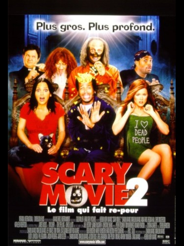 Affiche du film SCARY MOVIE 2