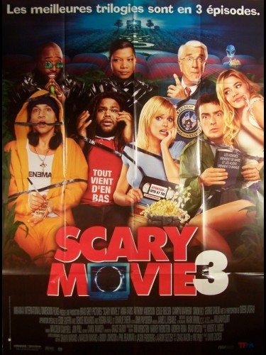 Affiche du film SCARY MOVIE 3 - SCARY MOVIE 3