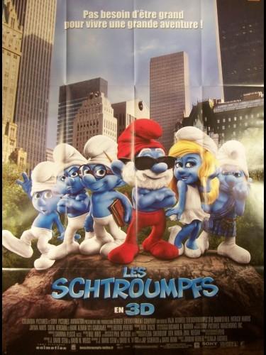 Affiche du film SCHTROUMPFS (LES) - THE SMURFS
