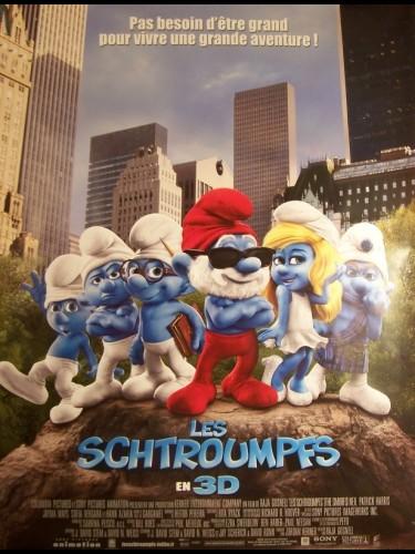 Affiche du film SCHTROUMPFS (LES) (AFFICHE ROULÉE)
