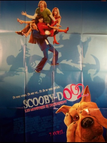 Affiche du film SCOOBY-DOO 2 LES MONSTRES SE DECHAINENT - SCOOBY DOO 2: MONSTERS UNLEASHED