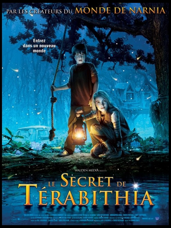 Affiche du film SECRET DE TERABITHIA (LE) - BRIDGE TO TERABITHIA
