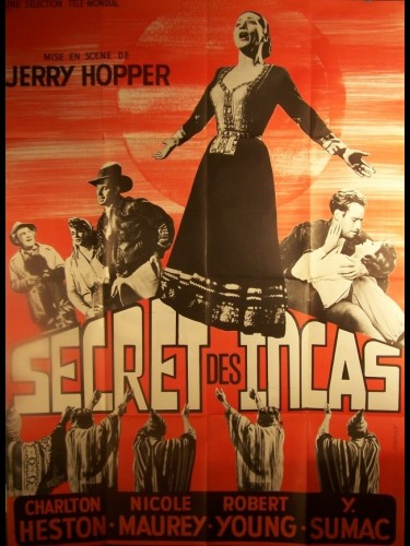 Affiche du film SECRET DES INCAS (LE) - SECRET OF THE INCAS