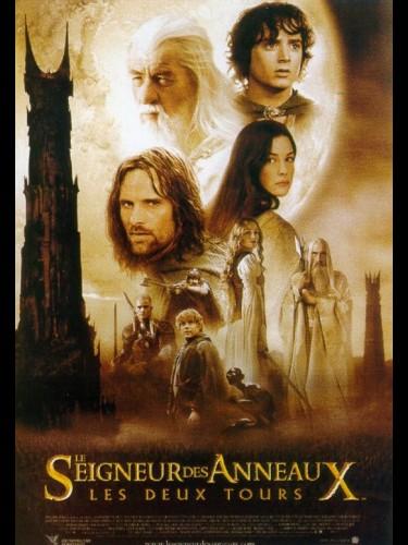Affiche du film SEIGNEUR DES ANNEAUX : LES DEUX TOURS 2 (LE) - LORD OF THE RINGS : THE TWO TOWERS (THE)