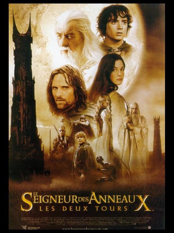 magasin officiel boutique officielle énorme réduction Affiche du film « SEIGNEUR DES ANNEAUX : LES DEUX TOURS 2 (LE) - LORD OF  THE RINGS : THE TWO TOWERS (THE) »