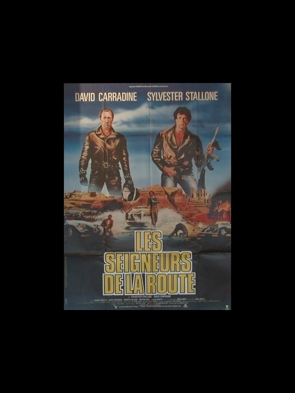 Affiche du film SEIGNEURS DE LA ROUTE (LES) - DEATH RACE 2000