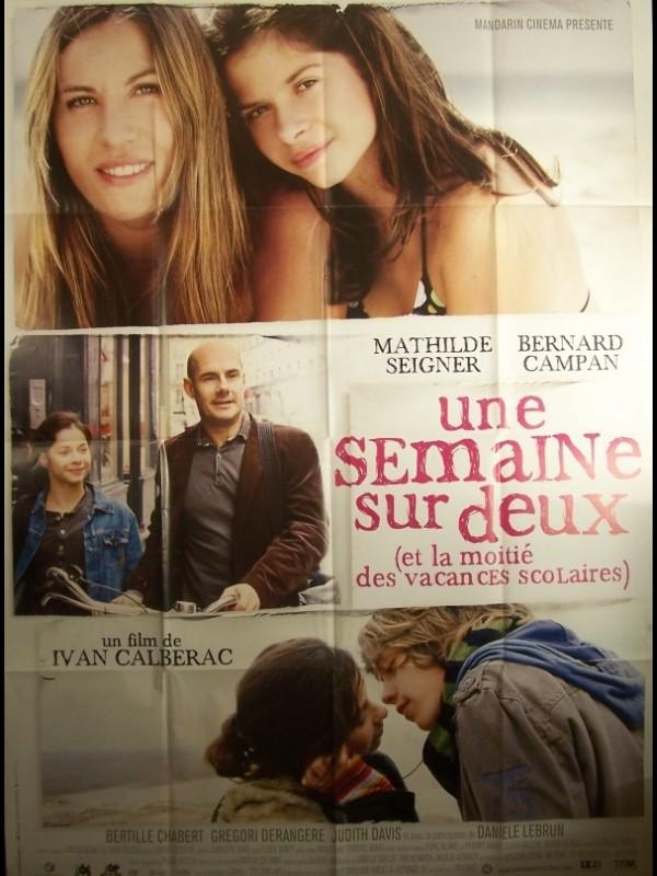 Affiche du film SEMAINE SUR DEUX (UNE)