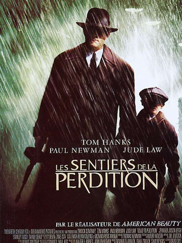 Affiche du film SENTIERS DE LA PERDITION (LES) - ROAD TO PERDITION