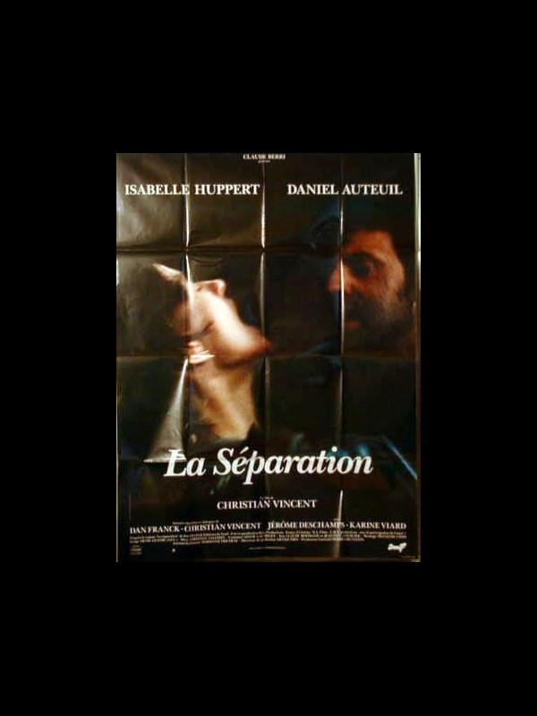 Affiche du film SEPARATION (LA)