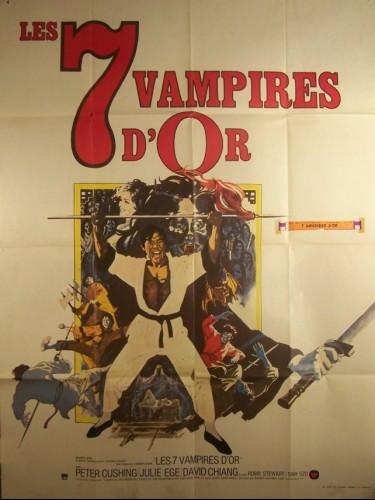 Affiche du film SEPT VAMPIRES D'OR (LES)