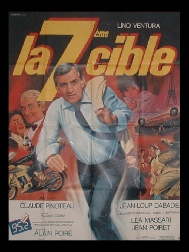 Affiche du film SEPTIEME CIBLE (LA)