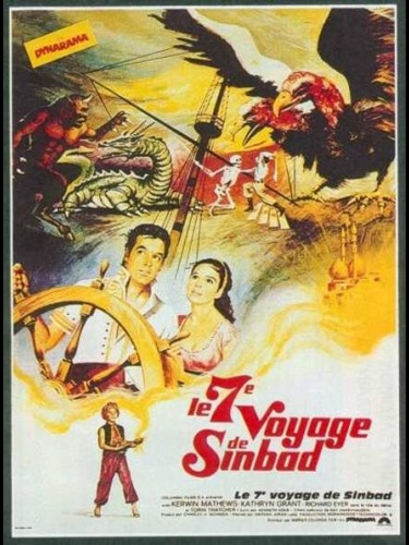 Affiche du film SEPTIEME VOYAGE DE SINBAD (LE) - THE 7TH VOYAGE OF SINBAD
