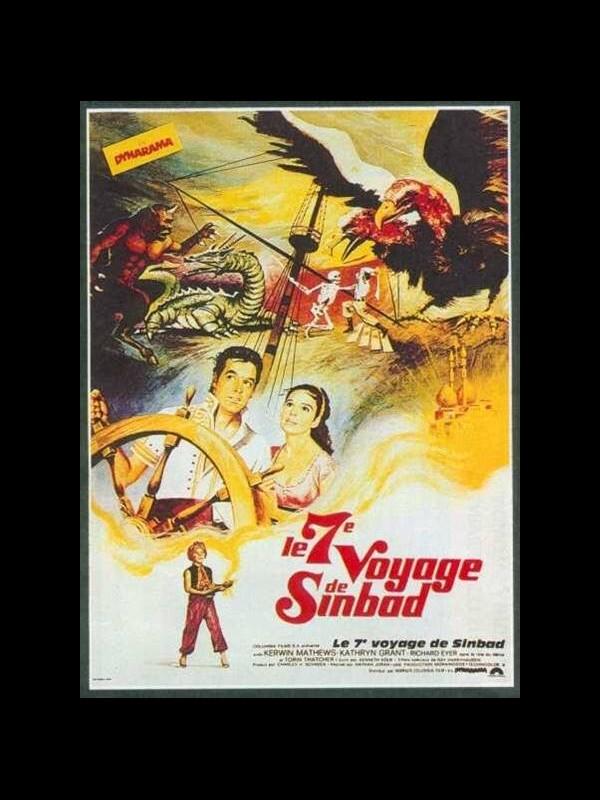 Affiche du film SEPTIEME VOYAGE DE SINBAD (LE) - THE 7TH VOYAGE OF SINBAD