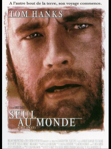 Affiche du film SEUL AU MONDE - CAST AWAY