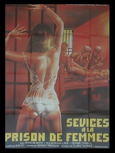 Affiche du film SEVICES A LA PRISON DE FEMMES - DETENUTE VIOLENTE