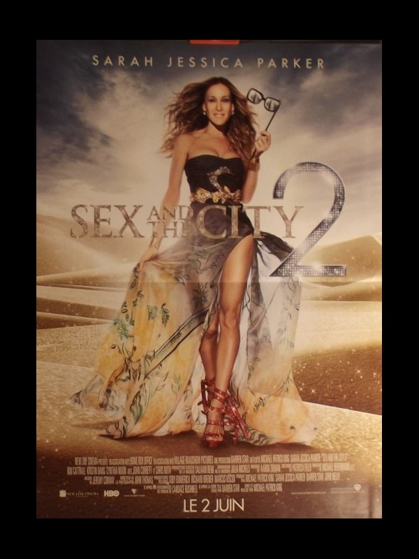 Affiche du film SEX AND THE CITY II