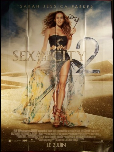Affiche du film SEX AND THE CITY II (SARAH JESSICA PARKER)
