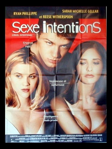 Affiche du film SEXE INTENTIONS