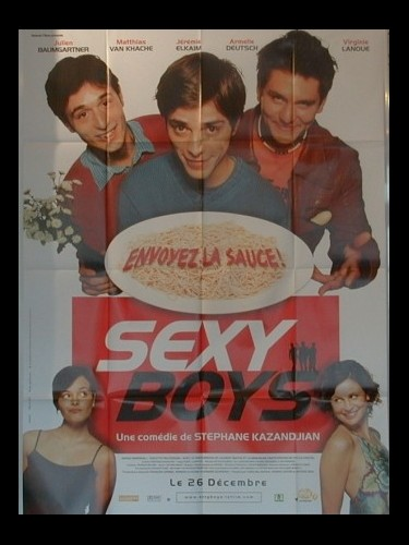 Affiche du film SEXY BOYS