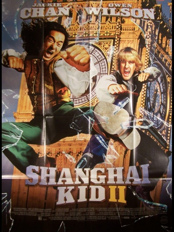 Affiche du film SHANGAI KID 2 - SHANGHAI KNIGHTS