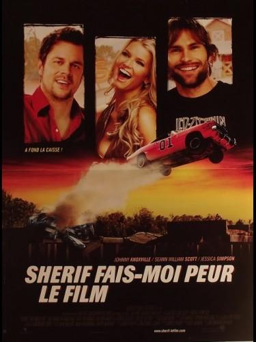 Affiche du film SHERIF FAIS MOI PEUR