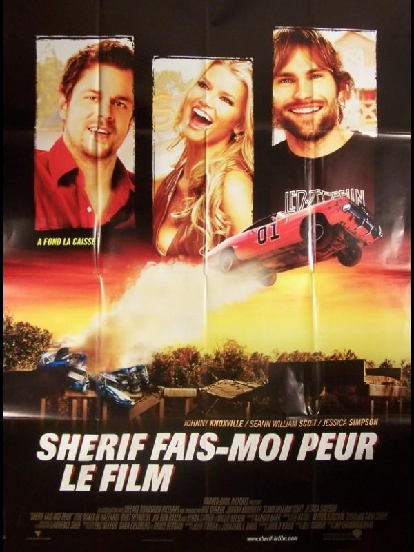 Affiche du film SHERIF FAIS MOI PEUR - THE DUKES OF HAZZARD